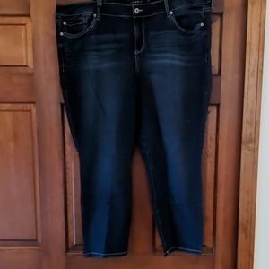 Torrid skinny stretch denim size 24